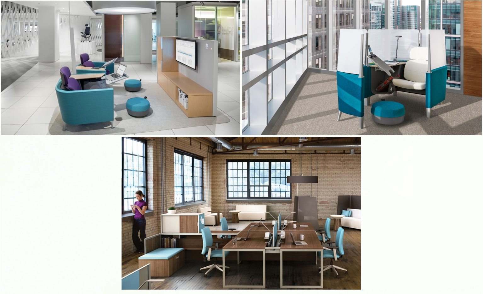 """Steelcase line of furniture """"Brody"""" for flexible workplace design"""