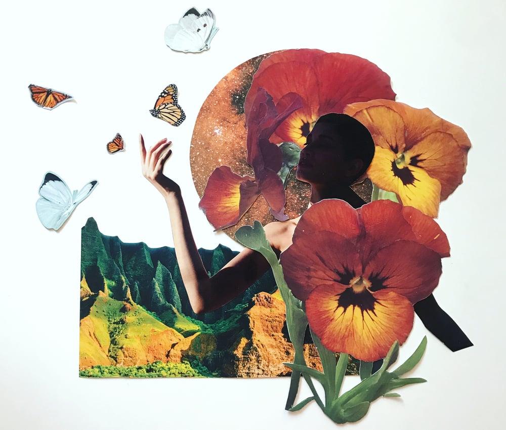 Elisabth Baker collage